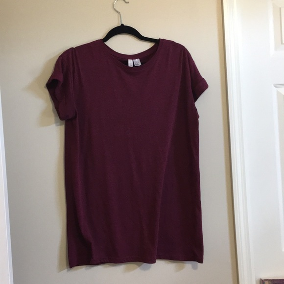 4724855201a H M Tops - H and M t shirt dress